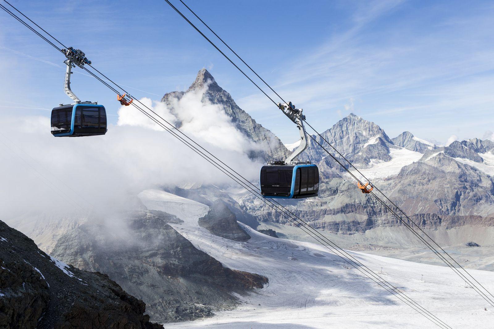 Neue Seilbahn in Zermatt