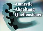 Strafsteuer auf Schwarzgeld: Die Amnestie für Steuersünder soll helfen, die Lücken im Haushalt zu schließen