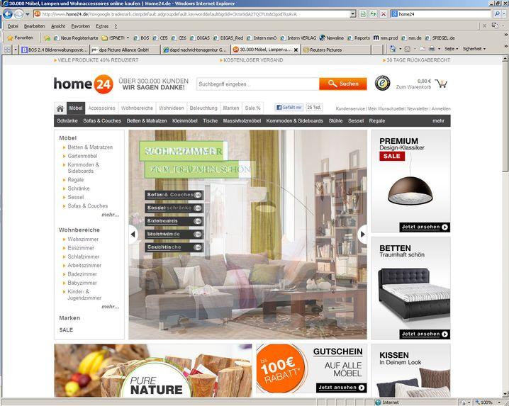 Home24: Der Online-Möbelhändler startete 2012. Im vergangenen Jahr lag der Umsatz bei rund 93 Millionen Euro, der Verlust erreichte knapp 42 Millionen Euro. Zuletzt gab es 515.000 aktive Kunden. Rocket Internet hält knapp die Hälfte.