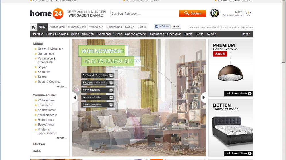 Netzeinrichter: Wo man im Internet stylishe Möbel bekommt