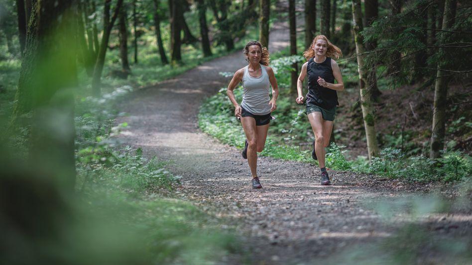 Zurück zu den Anfängen: Der klassische Waldlauf ist der Ursprung der Jogging-Bewegung