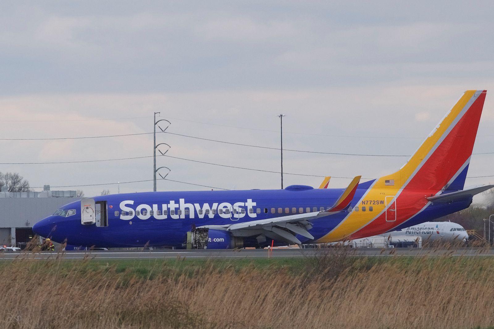 Southwest Airlines / Flugzeugunglück Philadelphia