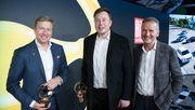 Elon Musk auf Kurzbesuch bei VW-Chef Herbert Diess