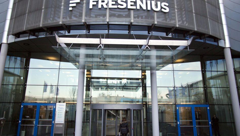 Zentrale in Bad Homburg: Fresenius profitiert vom Generikageschäft und von zahlreichen Zukäufen