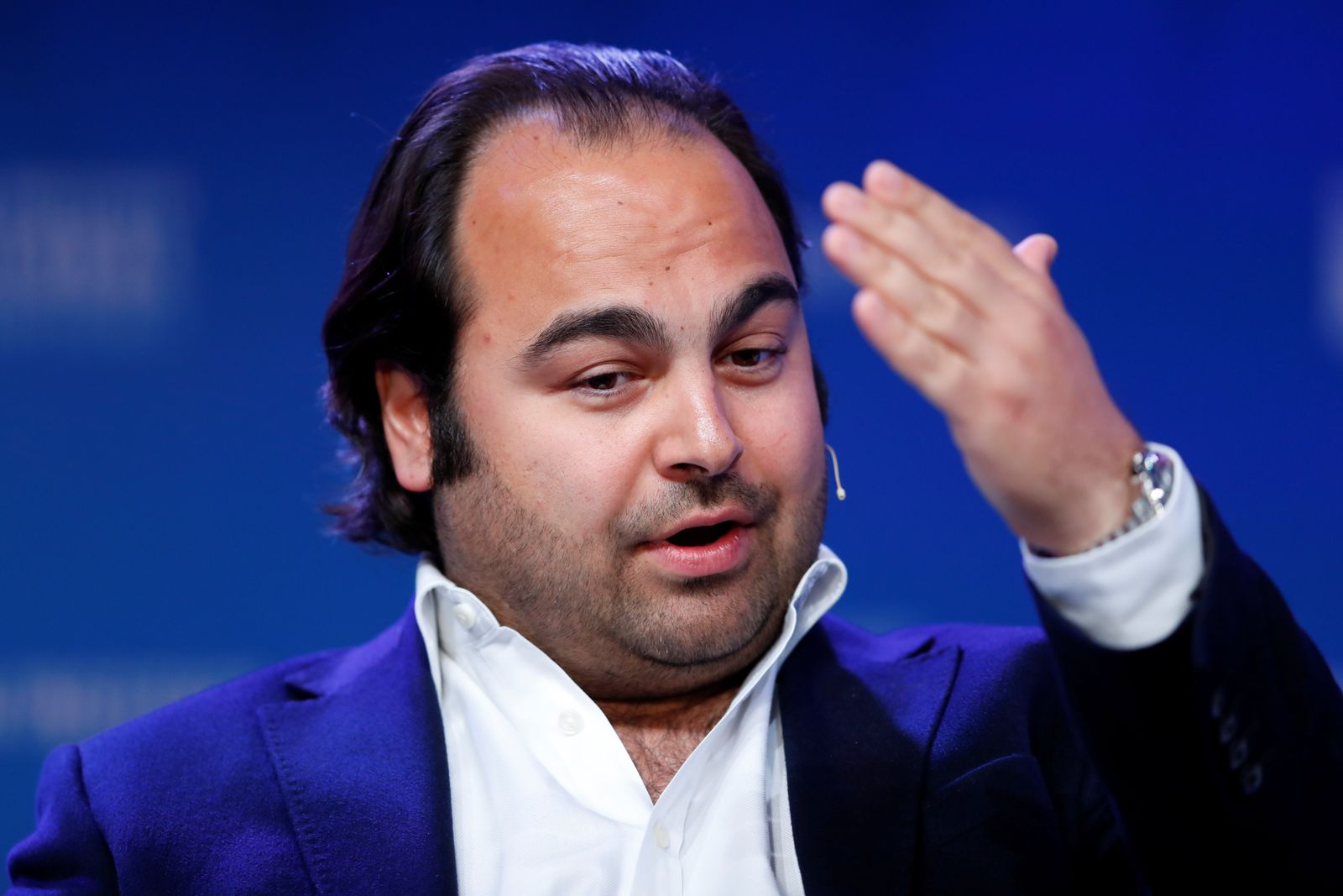 Hakan Koc Co-Founder and Co-CEO, AUTO1 Group during the Milken Institute's 22nd annual Global Conference in Beverly Hills, California