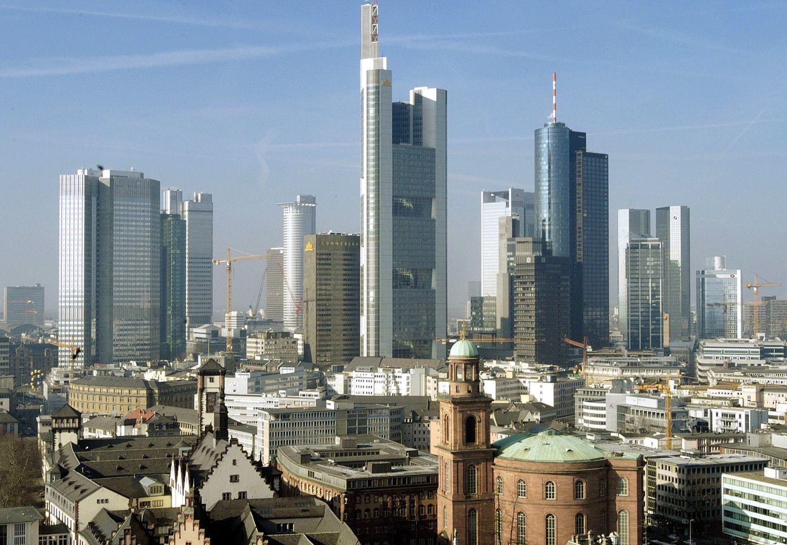 Bankenstadt Frankfurt/Main