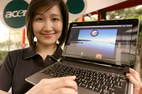 Führt die Branche in Deutschland an: Laptop-Produzent Acer