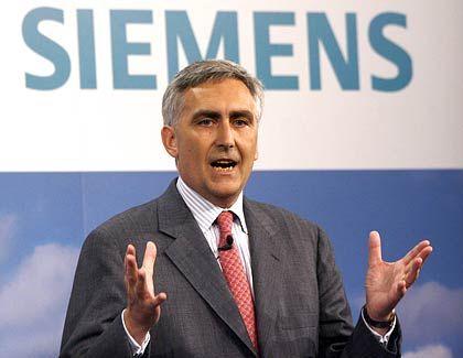 Massiver Aktienrückkauf:Siemens-Chef Löscher