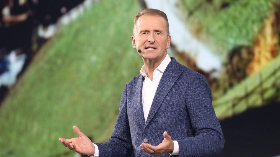 Bereit zur Kontroverse: Volkswagen-Chef Herbert Diess