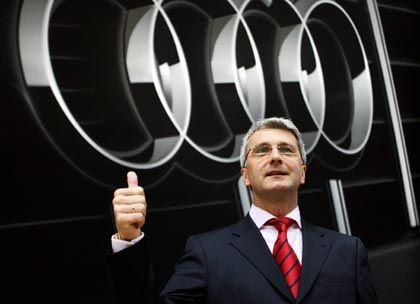 Tritt kürzer: Audi-Chef Stadler