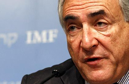 Düstere Prognose: IWF-Director Dominique Strauss-Kahn