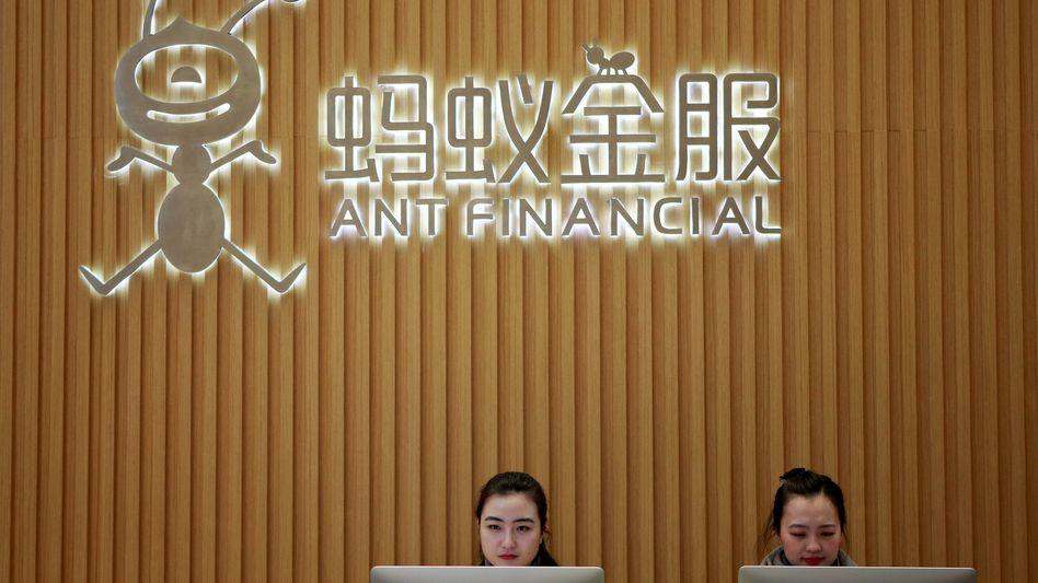 Steckt fest im Ameisenbau: Internationale Geldgeber haben Milliarden in eine Prä-IPO-Finanzierungsrunde bei Ant Financial investiert - Geld, an das sie nun nicht mehr kommen.