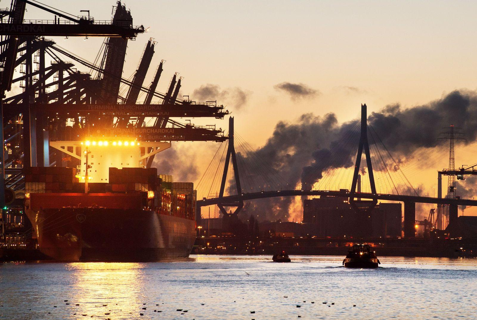 Deutschland / Konjunktur / Export / Container