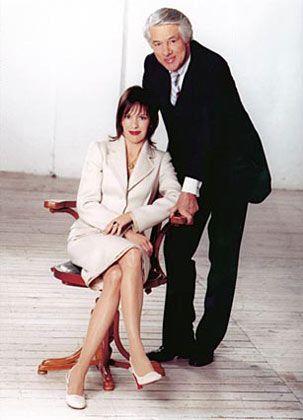 Führungsgespann: Vater Hellmut Wempe und Tochter Kim-Eva Wempe
