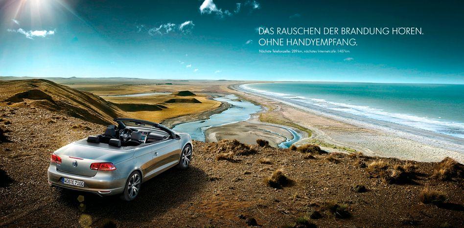 """Vor dem Abgrund: Das Cabrio VW Eos steht laut VW-Chef Winterkorn derzeit """"ernsthaft auf dem Prüfstand"""""""