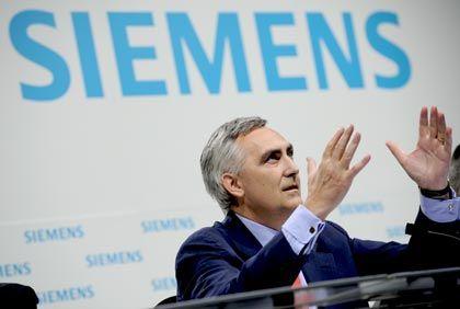 Siemens-Chef Löscher: In der Solartechnik zu einem der führenden Anbieter in der Welt aufsteigen