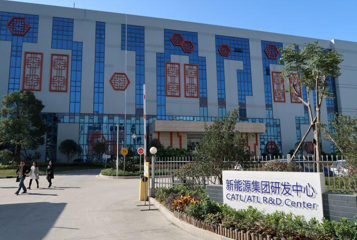 CATL-Hauptquartier in Ningde, China