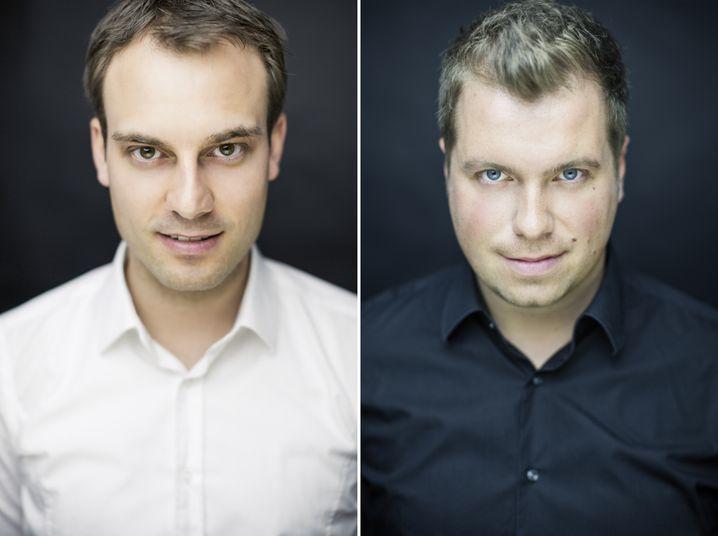 UNIQ-Gründer Daniel Marx und Daniel Krahn
