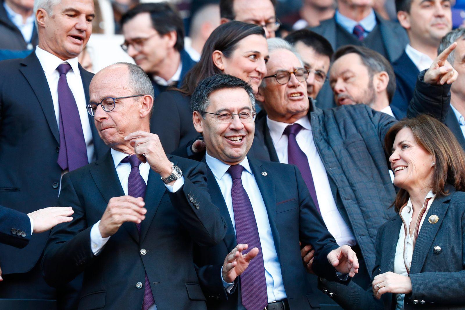 Spain Soccer La Liga / FC Barcelona / Bartomeu