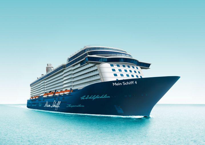 """Hanseatisch blau: Die """"Mein Schiff 4"""""""