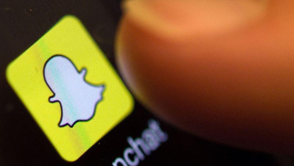 Snapchat-Icon: Börsengang im März?