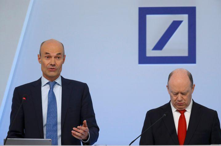 Muss erklären: Deutsche-Bank-Co-Vize-CEO Marcus Schenck