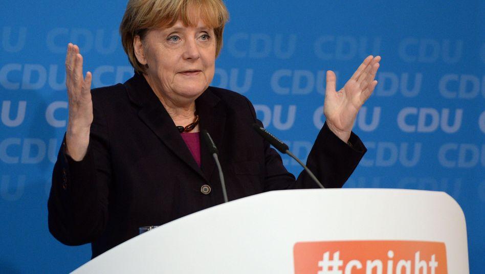 Merkel: Mechanistische Vorstellung von Ökonomie