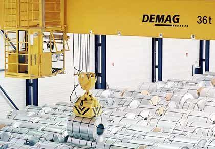 Demag Cranes: Börsengang im zweiten Anlauf geglückt.