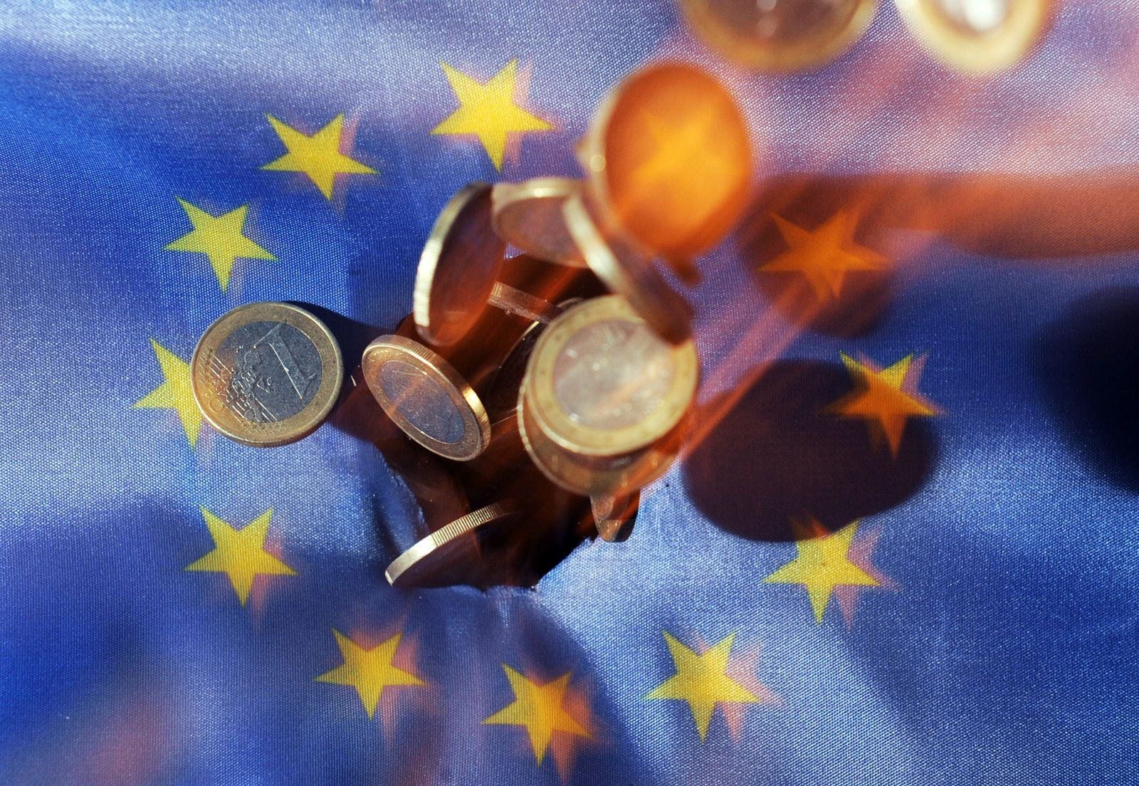 Eurokrise / Fahne