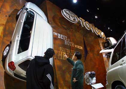 Gegen die Wand: Toyota auf der Chicago Auto Show