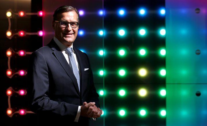 Hat wenig Erleuchtendes mitzuteilen: Osram-Vorstandschef Olaf Berlien