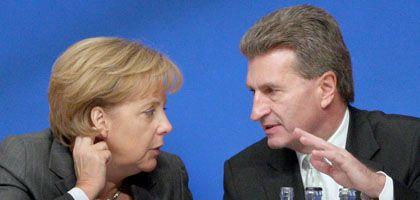 Merkel, Oettinger: Der Ministerpräsident hält eine Erhöhung für denkbar