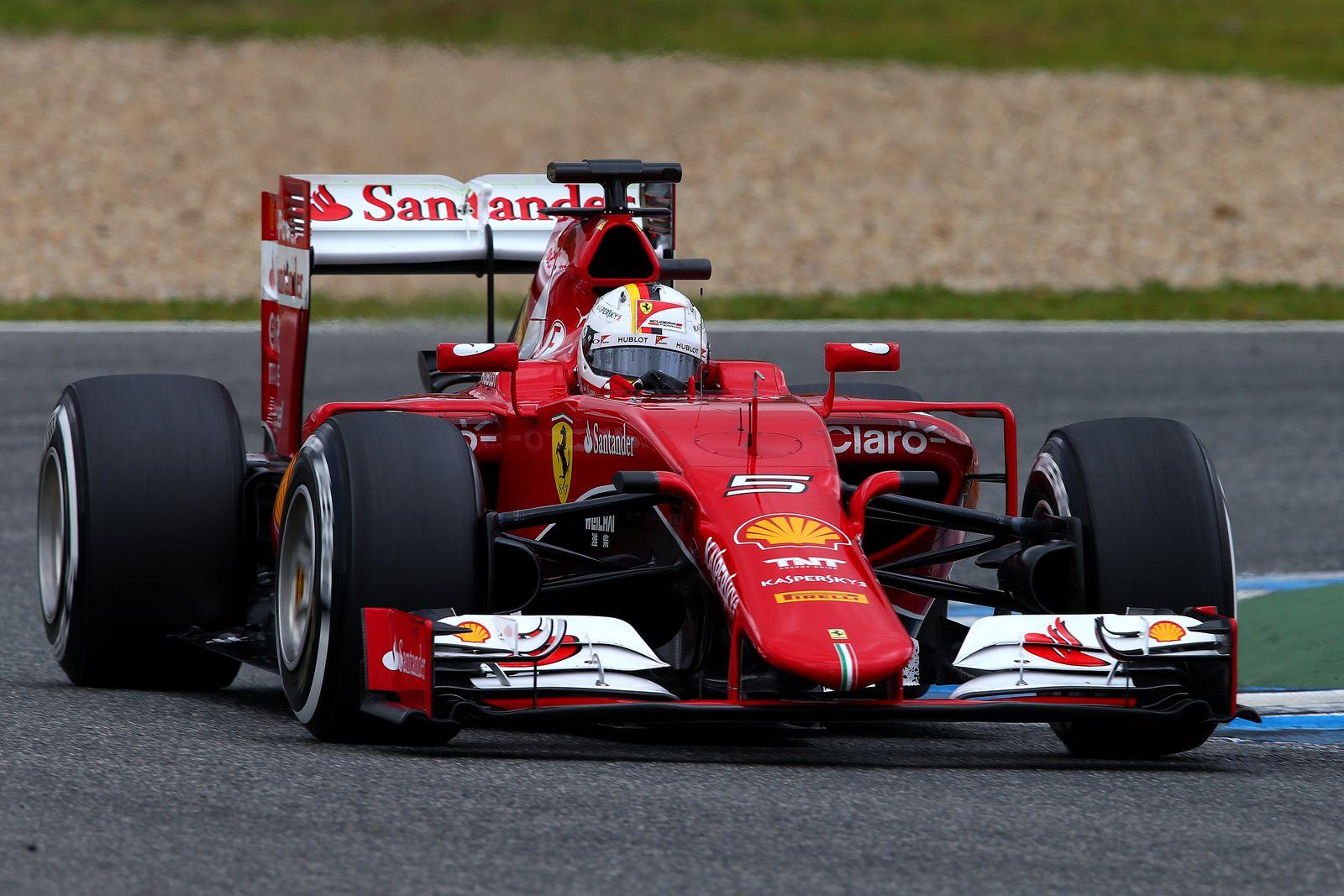 Formel 1 Vettel Ferrari