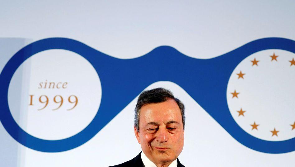 Mario Draghi (Archivbild vom März 2019)