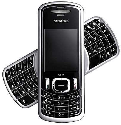 Siemens SK 65: Blackberry-Funktion spart Zeit
