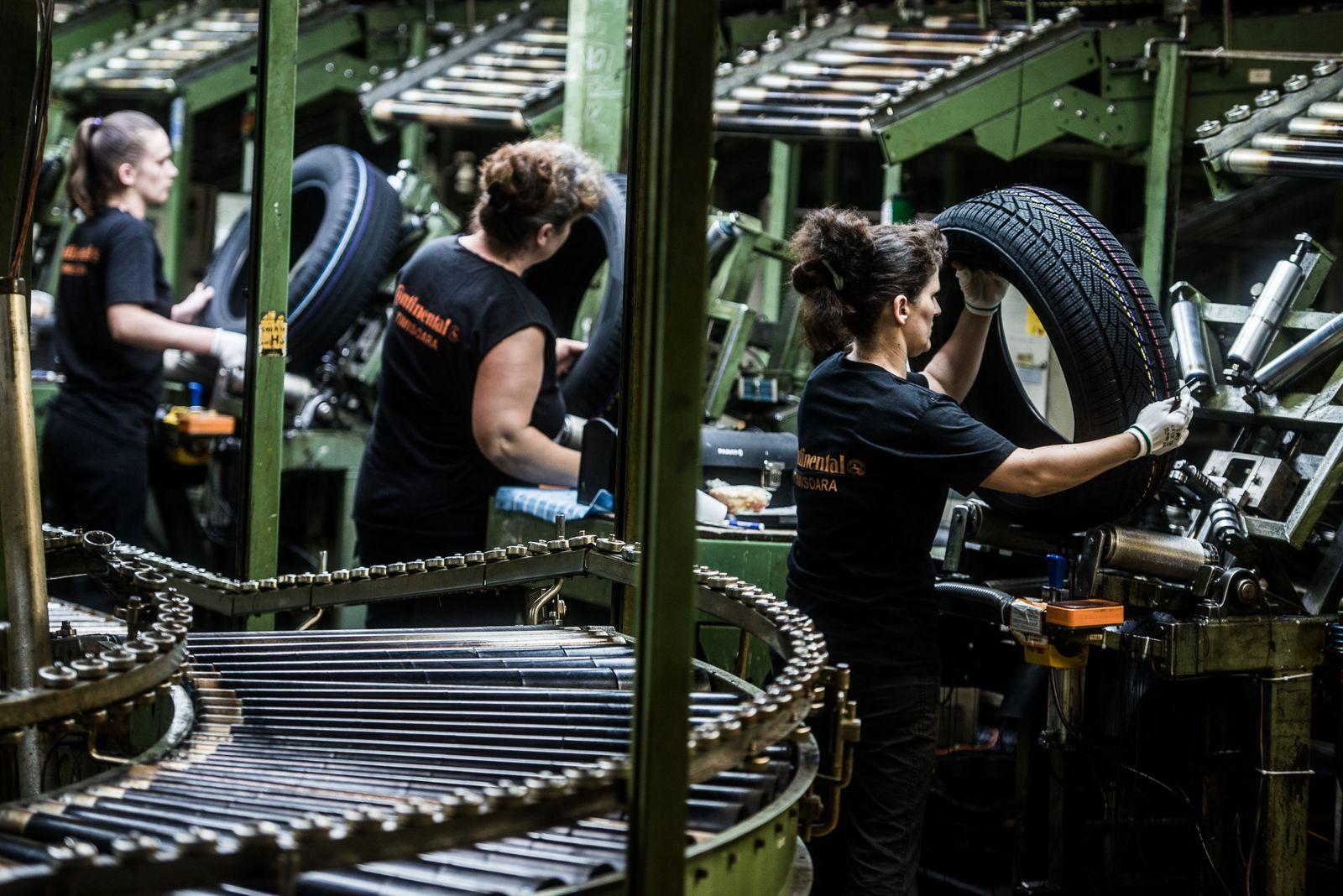EINMALIGE VERWENDUNG Continental AG; Produktion Romänien