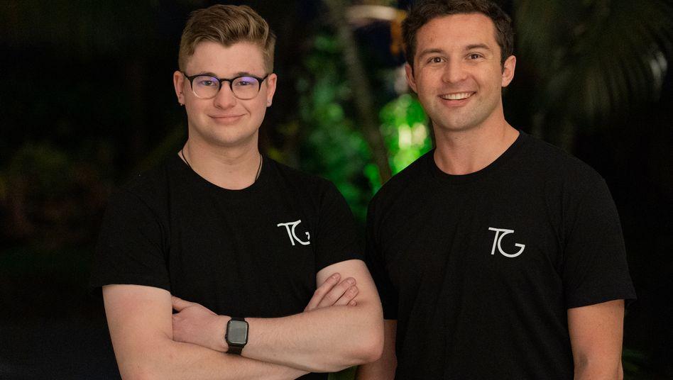 Ben Guerin und Sean Topham: Die beiden neuseeländischen Social-Media-Experten sollen für Boris Johnson die Wahl im Netz gewinnen