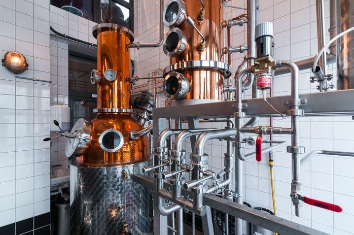 KOMBINIERBARDas Himkok hat etwas für jede Stimmungslage: Destille, Garten, Pub.