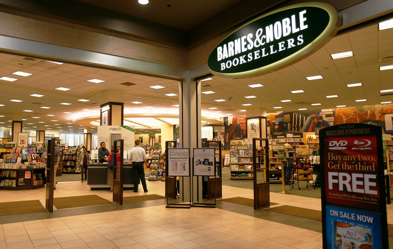 Barnes and Noble / USA / Buchhandlung / Buchladen