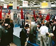 Andrang auf der Cebit: Die Ausstellung hat sich zur größten Computer-Messe der Welt entwickelt