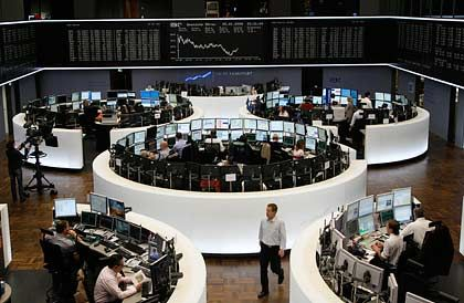 Deutsche Börse: Steuerpläne der SPD belasteten am Mittwoch die Papiere des Börsenbetreibers