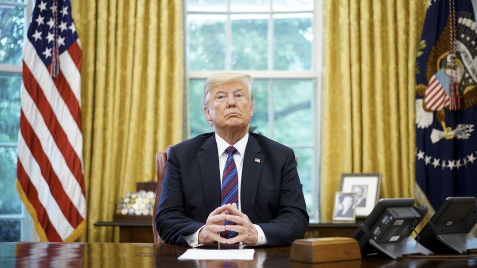 """US-Präsident Donald Trump: """"Wir prüfen, alle GM-Subventionen zu kürzen, inklusive der für Elektroautos"""""""