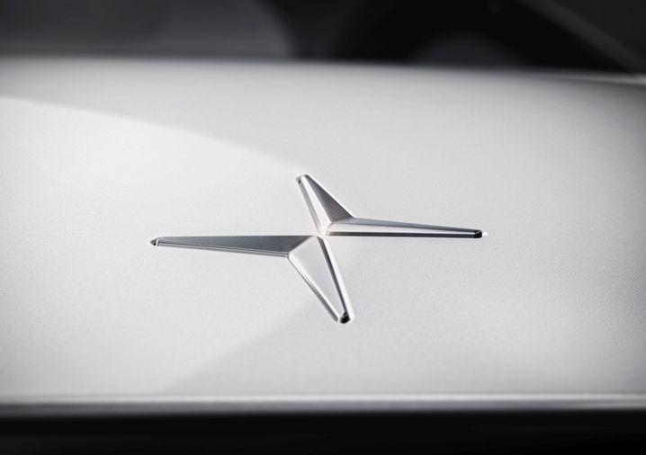 Logo der künftigen Volvo-Elektroautomarke Polestar