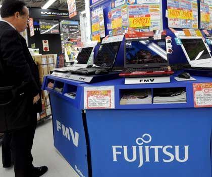 Fujitsu: Büßt vergleichsweise wenig Umsatz ein