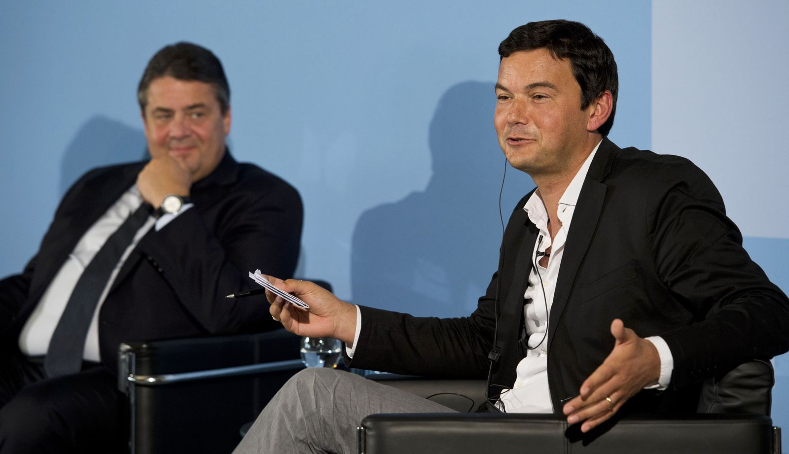 Sigmar Gabriel / Thomas Piketty