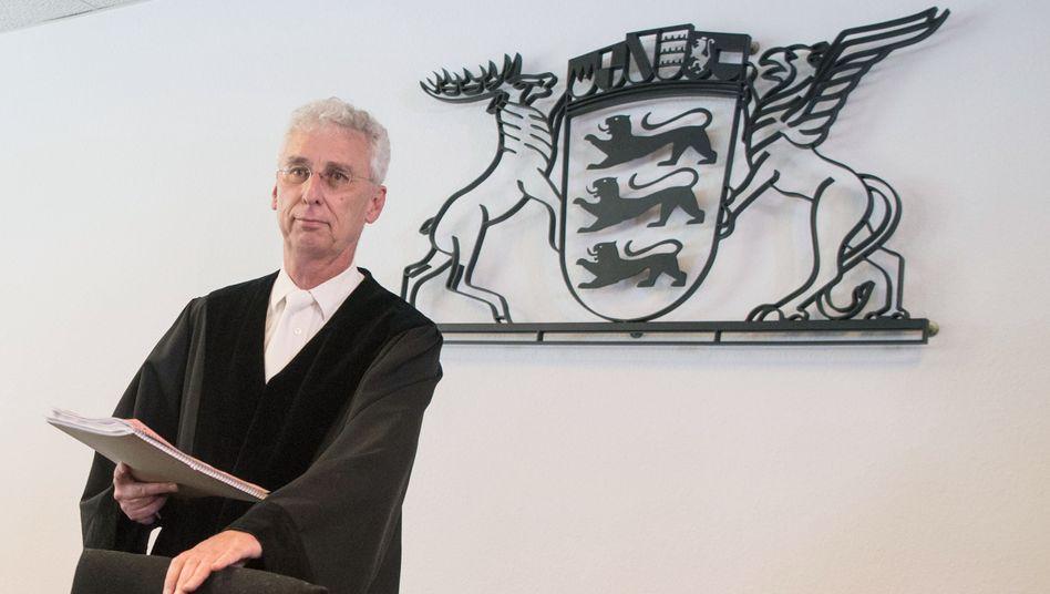 Verwaltungsrichter Wolfgang Kern