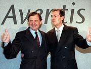 Dormann (r.) und Fourtou wechseln gemeinsam in den Aufsichtsrat.
