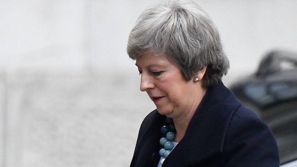 Theresa May: Die britische Premierministerin hofft auf Zugeständnisse aus der EU