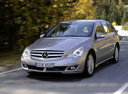 Mercedes R-Klasse: Zurückhaltende Optik, enorm viel Auto dahinter