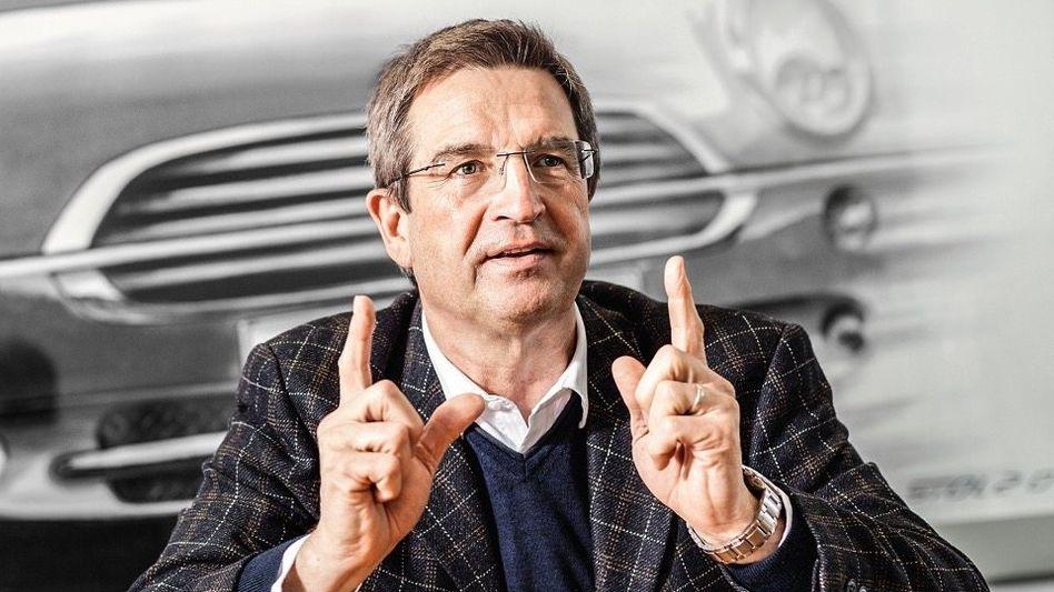 """""""Batterien bauen!"""": BMW-Betriebsratschef Manfred Schoch."""
